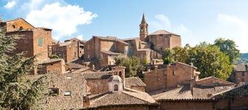 italiensk town Royaltyfria Bilder