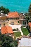 italiensk villa Royaltyfri Bild