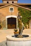italiensk villa Royaltyfri Fotografi