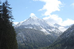 Italienska alpina passerande Royaltyfria Foton