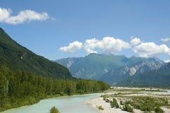 italienska alps Arkivbild