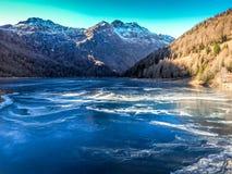 Italienska Alps fotografering för bildbyråer