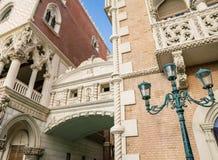 Italienska arkitektoniska beståndsdelar Arkivbilder
