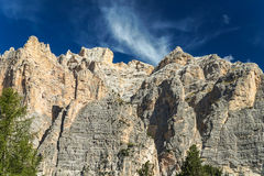 Italienska berg Arkivbilder