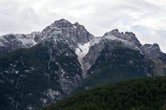 italienska dolomites Arkivbild