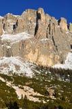 italienska dolomites Fotografering för Bildbyråer