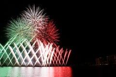 Italienska fyrverkerier Royaltyfria Bilder