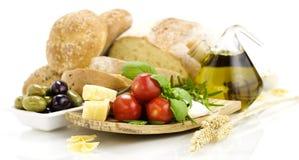 Italienska ingredienser Royaltyfri Foto