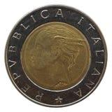 italienska liras Arkivbild