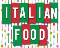 italienska matlagningmatingredienser Royaltyfria Bilder