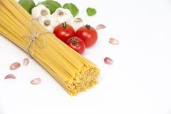 italienska matlagningmatingredienser Royaltyfri Bild