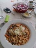 italienska matlagningmatingredienser Royaltyfria Foton