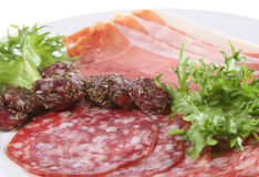 italienska meats arkivbild