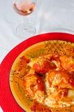 italienska pastaskal Royaltyfri Bild