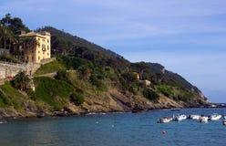 italienska riviera royaltyfri bild