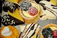 italienska sötsaker Fotografering för Bildbyråer