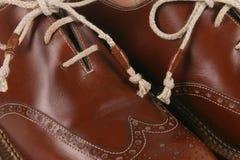 italienska skor Arkivfoton