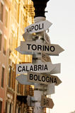 italienska städer Royaltyfri Fotografi