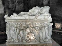 Italienskt arkeologiskt museum i Heropolis royaltyfria bilder