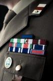 italienskt beskickningband för armé Royaltyfri Fotografi