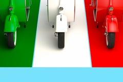 Italienskt bildande vektor illustrationer