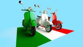 Italienskt bildande stock illustrationer