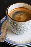 Italienskt espressokaffe Fotografering för Bildbyråer
