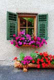 italienskt fönster Royaltyfria Foton