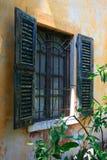 italienskt fönster Arkivbild