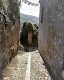 Italienskt gammalt land, Accadia Arkivfoto