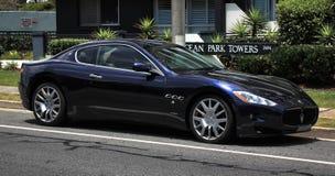 Italienskt klassiskt Unedited, Maserati royaltyfri foto
