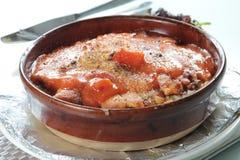 Italienskt kokkonstfoto av risotto royaltyfri fotografi