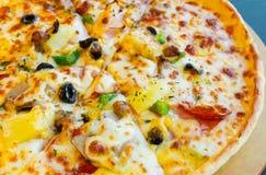 Italienskt pizzaslut upp Arkivfoton