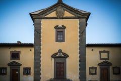 Italienskt slott Royaltyfria Bilder