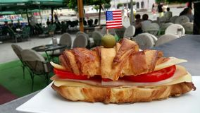 Italijan sendwich Zdjęcie Stock