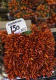 Italilan Gorącego chili pieprze Zdjęcie Stock