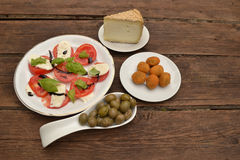 Italin appetizer Royalty Free Stock Photography