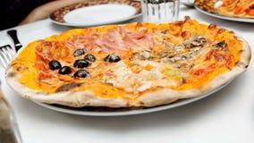 italin pizzy polewy różnorodne Zdjęcie Stock