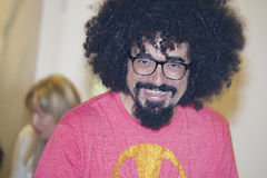Italian singer caparezza rapper smiling Royalty Free Stock Images