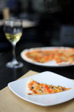 Itallian lunch Royalty Free Stock Images