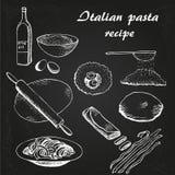 Itallian pasta 6 Royaltyfria Bilder
