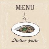 Itallian pasta 3 Royaltyfria Bilder