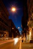 itally rome gata Arkivbilder