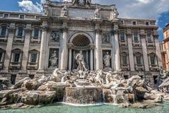 Italty, Roma Fuente del Trevi foto de archivo