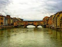 Italy's河视图 库存图片