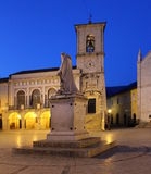 Italy – Norcia - The church of St. Benedict Royalty Free Stock Image