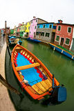 Italy. Its Island Burano, Venice, Italy Royalty Free Stock Images