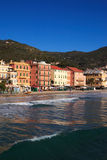 Italy Alassio Italian Riviera Royalty Free Stock Photography
