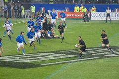 Italy - All Blacks Stock Photo