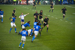 Italy - All Blacks stock photography